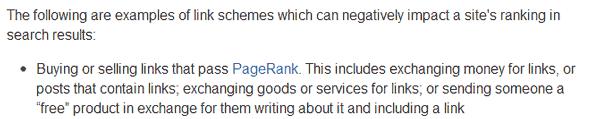 خرید بک لینک از نظر گوگل